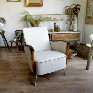 Rockafella Mid-Century Central European Art Deco Chair