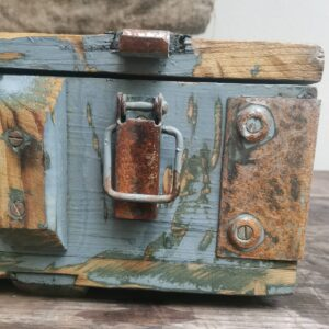 Workmans Trunk Heavy strong military style box