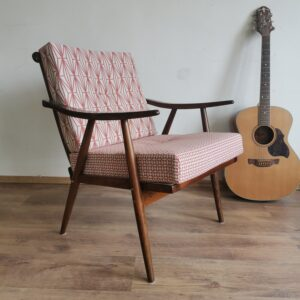 TON spindle early century chair, 1940s