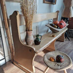 Large Long Wooden Church Bench, Garden, Pew, Lounge Dining Seating
